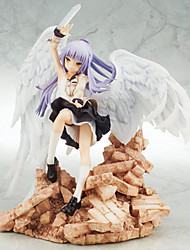 cheap -Anime Action Figures Inspired by Angel Beats Kanade Tachibana PVC(PolyVinyl Chloride) 22 cm CM Model Toys Doll Toy