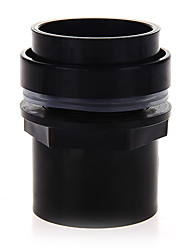Недорогие -черный аквариум аквариум разъем пластиковая ПВХ водонепроницаемый аксессуары 50мм