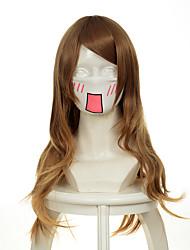 cheap -b gata h kei yamada brown wavy halloween wigs synthetic wigs costume wigs Halloween