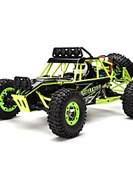 cheap -RC Car WLtoys 12428 2.4G Buggy (Off-road) / Rock Climbing Car / Off Road Car 1:12 Brush Electric 50 km/h Rechargeable / Remote Control / RC / Electric