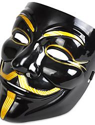 cheap -Halloween Mask Masquerade Mask Movie Character Horror Plastic PVC(PolyVinyl Chloride) V for Vendetta 1 pcs Adults' Boys' Girls' Toy Gift