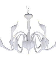 cheap -Modern/Contemporary Chandelier For Living Room Bedroom Dining Room Bulb Included