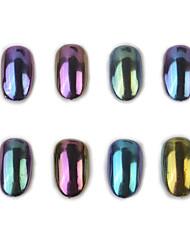 cheap -Manicure Mirror Mirror Pink Suit 8 Bottles of Nail Polish Glue Seal Bottom Glue Powder