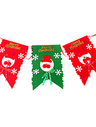 cheap -Christmas Decorations Holiday Supplies Christmas / Halloween / New Year Textile