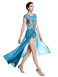 cheap -Ballet Outfits Women's Performance Sequined / Lycra Sequin Sleeveless Natural / Modern Dance