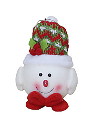 cheap -Christmas Decorations Christmas Toys Holiday Supplies 3 Christmas Textile Red White Yellow