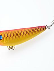 cheap -1 pcs Pencil Pencil Floating Bass Trout Pike Bait Casting Hard Plastic