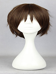 cheap -Synthetic Wig Cosplay Wig Curly Curly Wig Brown Synthetic Hair Women's Brown hairjoy