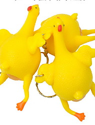 cheap -Novelty Toy / Stress Relievers Novelty Toy Chicken Rubber Yellow All