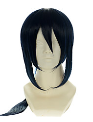 cheap -k yatogami kuroh special mixed ink blue halloween wigs synthetic wigs costume wigs Halloween