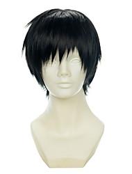 cheap -durarara orihara izaya black all purpose upturned halloween wigs synthetic wigs costume wigs Halloween