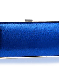 cheap -Women's PU Evening Bag Solid Colored Silver / Red / Blue