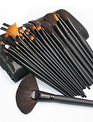 cheap -Professional Makeup Brushes Makeup Brush Set 32pcs Portable Professional Wood for