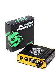 cheap -Dragonhawk New Professional Digital Tattoo Power Box Mini Tattoo Power Supply for Tattoo Machine