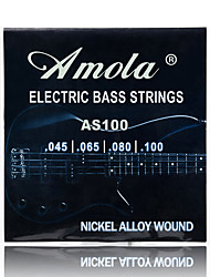 cheap -Amola AS100 Electric Bass Strings 4 bass Steel Stings 045