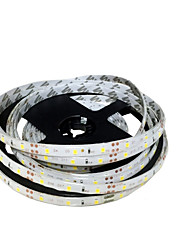 cheap -ZDM® 5m Flexible LED Light Strips 300 LEDs SMD 8mm 2835 Warm White / White / Red Cuttable / Linkable / Self-adhesive 12 V