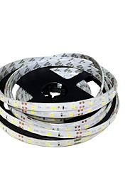 abordables -Bandes lumineuses à LED flexibles zdm® 5m 300 leds smd 8mm 2835 blanc chaud / blanc / rouge pouvant être coupé / connectable / auto-adhésif 12 v