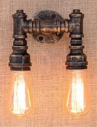 cheap -Rustic / Lodge Wall Lamps & Sconces Metal Wall Light 110-120V / 220-240V 60 W / E26 / E27