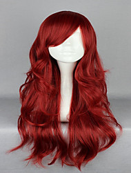 cheap -Cosplay Costume Wig Synthetic Wig Cosplay Wig Wavy Wavy Wig Red Synthetic Hair Women's Red hairjoy
