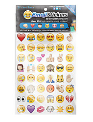 cheap -Emoji Stickers Novelty Toy Paper 10 bags