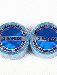 cheap -lace front support tape 2pieces 3yards american blue glue neitsi walker tape us tape double side adhesive tape for hair extensions