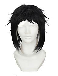cheap -artist wild dogs akutagawa ryunosuke temples gradient short black hair cosplay animation wig Halloween