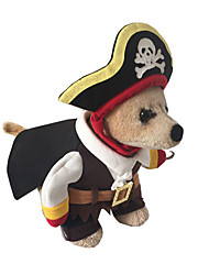 cheap -Dog Costume Coat Dog Clothes American / USA Cotton Costume For Spring &  Fall Winter Men's Women's Cosplay Fashion