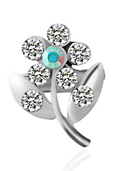 cheap -Women's Brooches Fashion Inspirational Brooch Jewelry Silver For Wedding