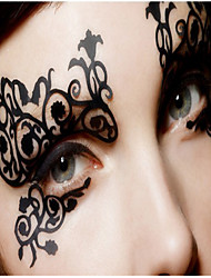 cheap -halloween-ball-silk-is-hollow-out-eye-shadow-post-fashion-comfortable-soft-liner-permeability-is-good-1pcs