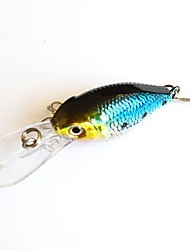 cheap -1 pcs Crank Fishing Lures Crank Sinking Bass Trout Pike Bait Casting Hard Plastic