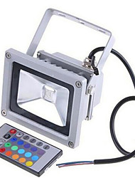 cheap -LED Floodlight Waterproof Remote Controlled Dimmable RGB 12 V 24 V 85-265 V Outdoor Lighting 1 LED Beads