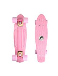 Недорогие -22 дюймы крейсера скейтборда ПП (полипропилен) Светло-Розовый