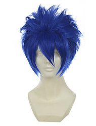 cheap -vocaloid kaito mistogai blue versatile towering short halloween wigs synthetic wigs costume wigs Halloween