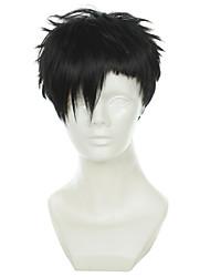cheap -black street gangsta bandit nico nicholas brown twilight race black cosplay wig Halloween