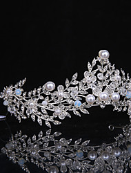cheap -Imitation Pearl / Rhinestone / Alloy Tiaras with 1 Wedding / Special Occasion / Casual Headpiece