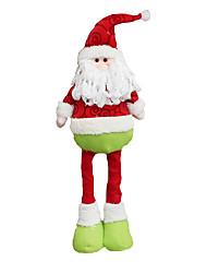 cheap -Christmas Decorations / Christmas Toy Santa Suits / Snowman Textile Gift 2 pcs