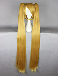 cheap -Synthetic Wig Cosplay Wig Straight Straight Wig Blonde Blonde Synthetic Hair Women's Braided Wig African Braids Blonde hairjoy