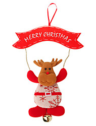 cheap -Christmas Decorations / Christmas Gift / Christmas Party Supplies Elk Novelty Textile Gift 1 pcs