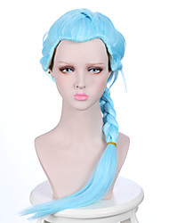 cheap -Synthetic Wig Wavy Wavy Wig Blue Synthetic Hair Women's Braided Wig African Braids