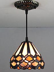 cheap -Pendant Light Downlight Painted Finishes Metal Glass Mini Style 110-120V / 220-240V / E26 / E27