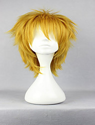 cheap -Synthetic Wig Cosplay Wig Curly Curly Wig Blonde Golden Blonde Synthetic Hair Women's Blonde hairjoy