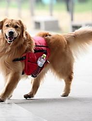 cheap -Dog Carrier Bag Travel Backpack Dog Pack Dog Backpack Dog Saddle Bag Waterproof Portable Textile Red Blue Green