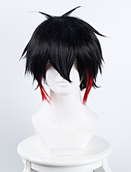 cheap -detention house no 15 jyugo black and red halloween wigs synthetic wigs costume wigs Halloween