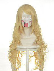 cheap -Synthetic Wig Wavy Wavy Wig Long Very Long Golden Brown Synthetic Hair Women's Brown