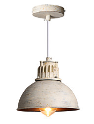 cheap -1-Light Retro Industrial Simple Loft Mini Pendant Lights Metal Dining Room Kitchen Bar Cafe Hallway Light Fixture