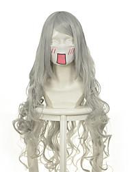 cheap -luo jie ai er ji beier silver volume cos wig watermark coiled silver Halloween