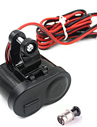 Недорогие -мотоцикл водонепроницаемый GPS 1.5a USB зарядное устройство порт прикуривателя