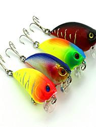 cheap -1 pcs Vibration / VIB Fishing Lures Vibration / VIB 3D Sinking Bass Trout Pike Bait Casting Hard Plastic