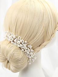 cheap -Imitation Pearl / Alloy Headbands with 1 Wedding Headpiece