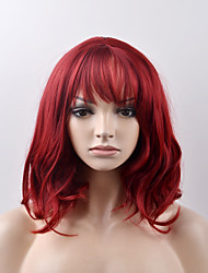 cheap -Synthetic Wig Natural Wave Natural Wave Wig Short Red Synthetic Hair Women's Red
